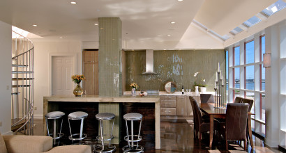 Lagarde Kitchen in Jax Brewery Penthouse New Orleans